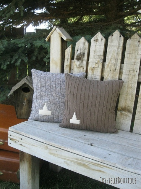 Thrift Stores Idaho Falls >> Tutorial On How To Make Mormon Temple Applique Pillows - Crystelle Boutique